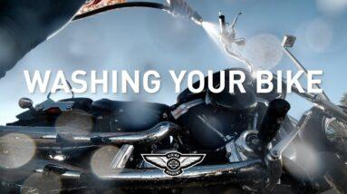 How-To: Washing Your Bike   Harley-Davidson Riding Academy